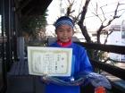 第28回小学生女子 準優勝 上方 璃咲