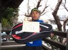第29回小学生男子 12歳以下 優勝 但馬 秀梧