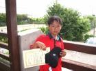 第30回小学生男子 12歳以下 準優勝 関戸 一希