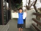 第31回小学生男子 10歳以下 準優勝 豊田 晟大
