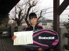 第31回小学生女子 10歳以下 優勝 水谷 梨紗子
