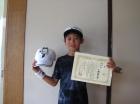 第33回小学生男子 10歳以下 準優勝 中橋 鳳斗也