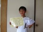 第33回小学生男子 12歳以下 準優勝 安楽 大和