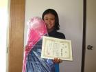第33回小学生女子 10歳以下 優勝 渡辺 光来