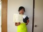 第33回小学生女子 12歳以下 準優勝 池宮 詩織