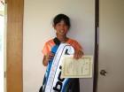 第33回小学生女子 12歳以下 優勝 三好 春瑠