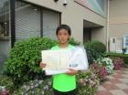 第35回小学生男女 10歳以下 準優勝 大島 大凱