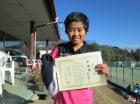 第36回小学生女子 10歳以下 準優勝 河俣 妃乃