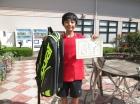 第40回小学生 12歳以下 優勝 吉田 彩人