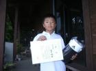 第6回小学生男子 準優勝 田内 誠