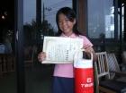 第6回小学生女子 準優勝 田中 彩純