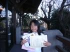 第8回小学生女子 準優勝 田中 彩純