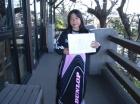 第9回小学生女子 準優勝 田中 彩純