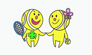 第1486回 緑ヶ丘テニスガーデン 女子ダブルス準優勝:宇田川・元岡ペア