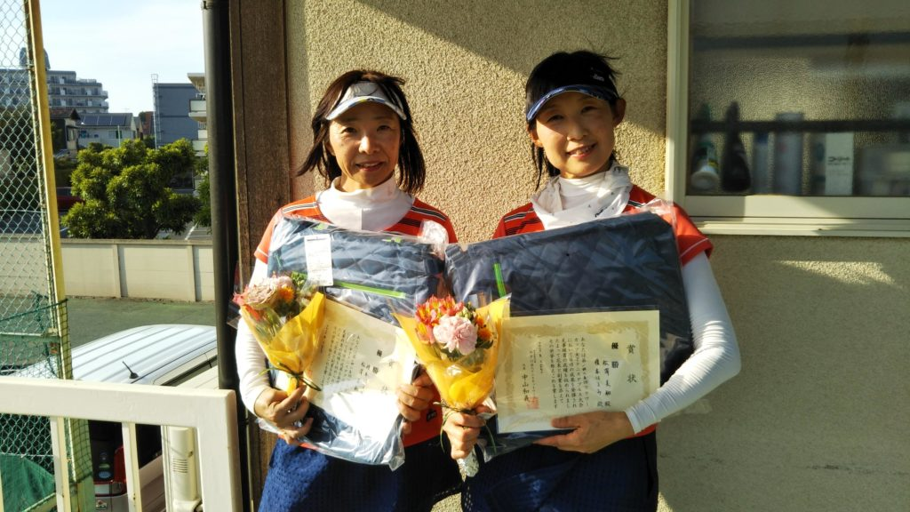 優勝:榎本・松澤ペア