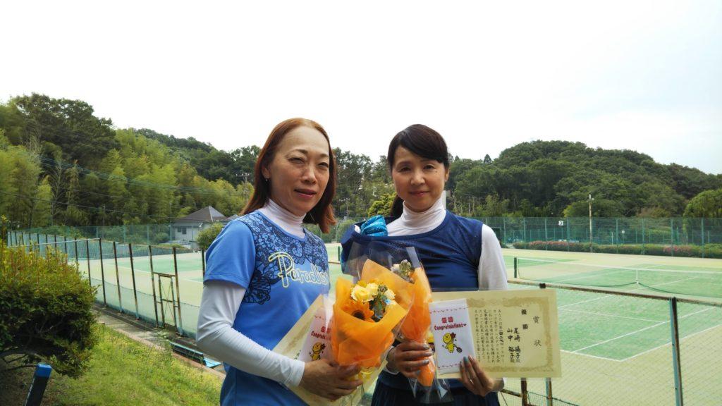 優勝:山中・尾崎ペア