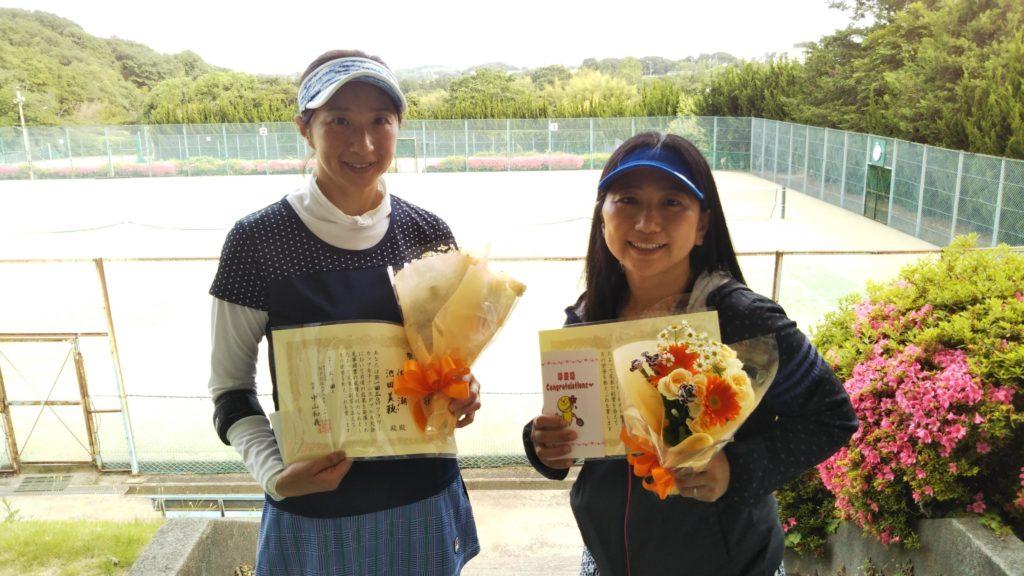 準優勝:佐藤・池田ペア