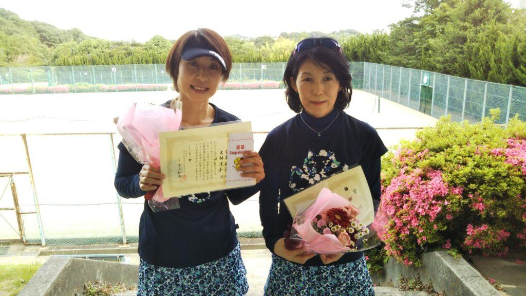 優勝:名倉・大林ペア