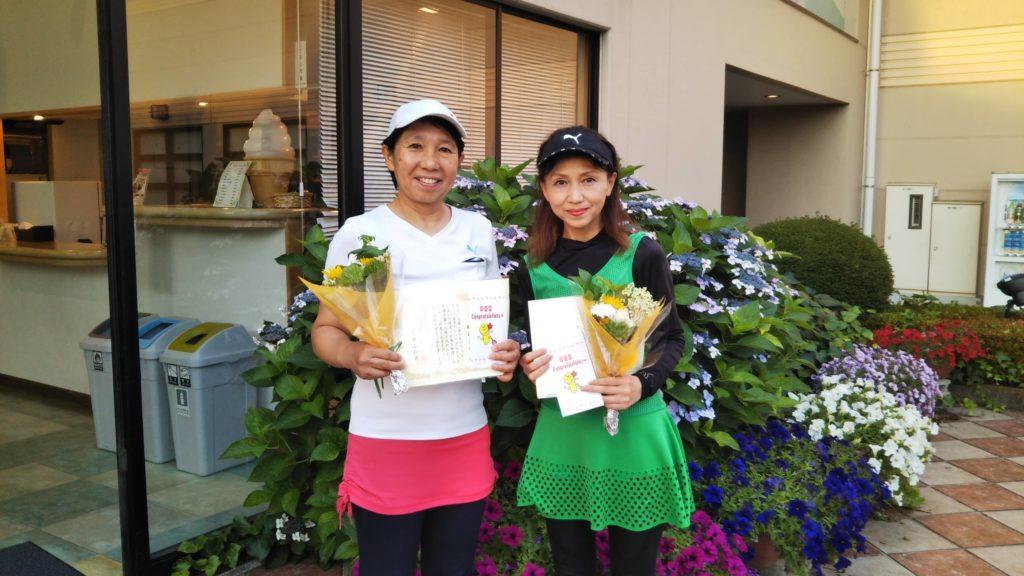 準優勝:小島・横山ペア