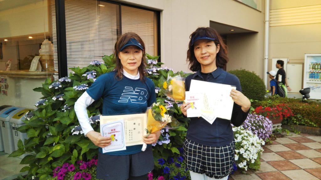 優勝:水島・福田ペア