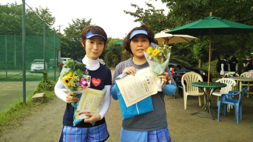 準優勝:久木元・升方ペア