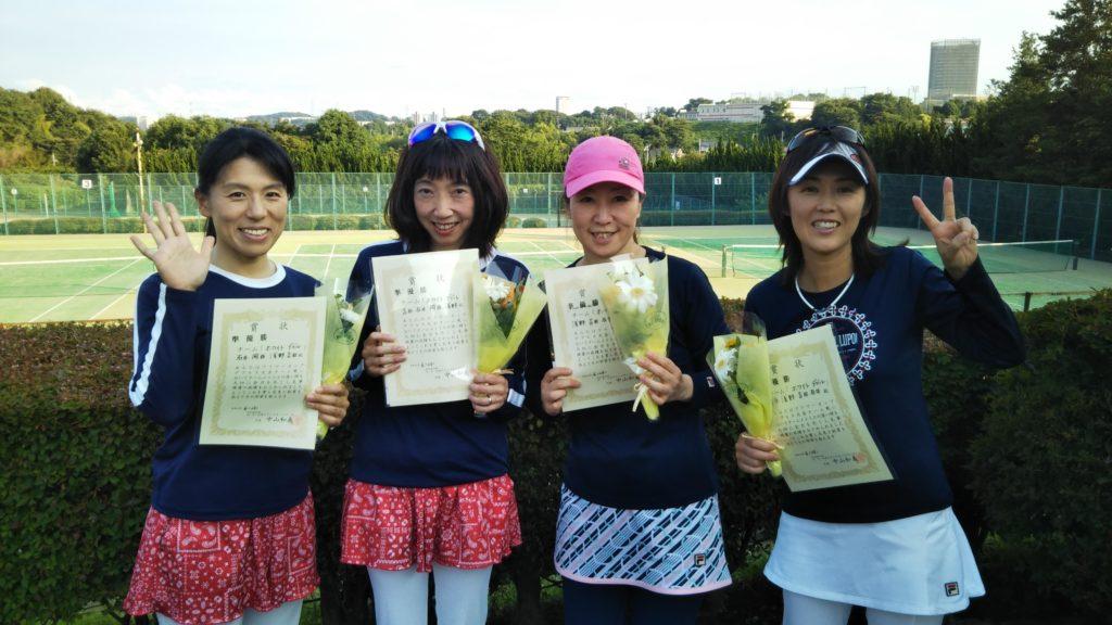 準優勝:石井・吉田・浅野・岡西チーム