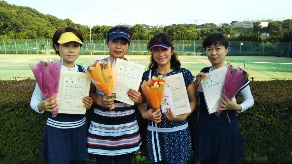 優勝:白石・原田・山田・河畑チーム