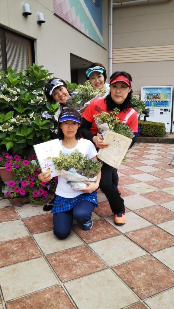 優勝:中峯・島津・松田・藤本チーム