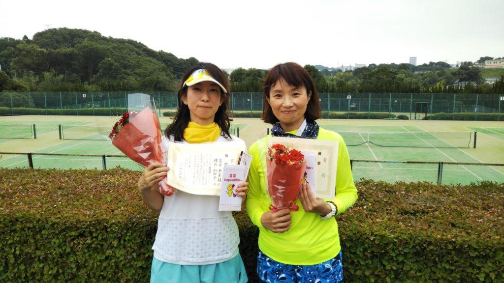 優勝:宮本・横内ペア
