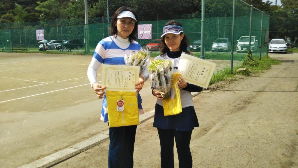 準優勝:松本・元木ペア
