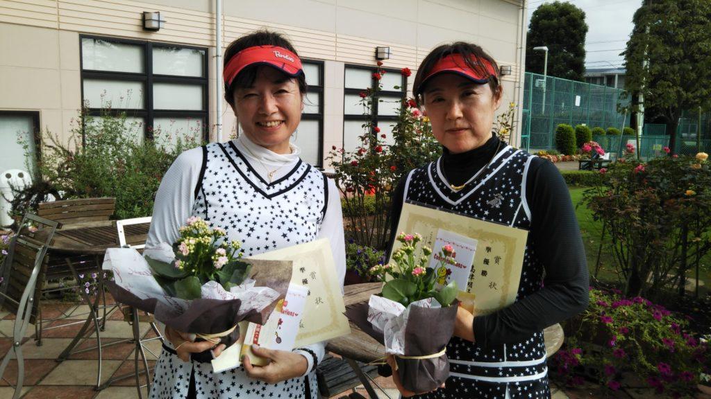 準優勝:伊沢・島津ペア