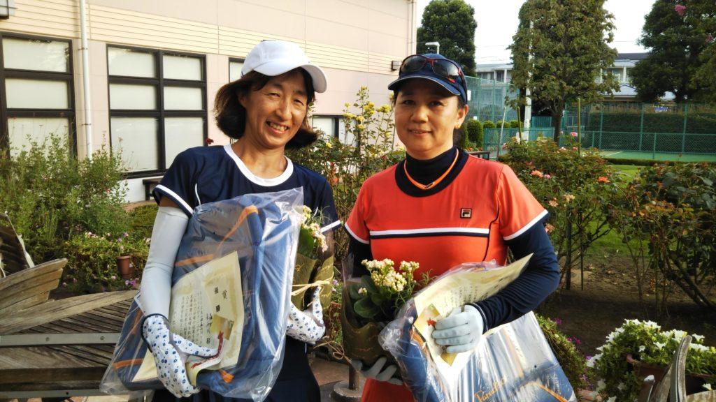 優勝:森村・長谷川ペア