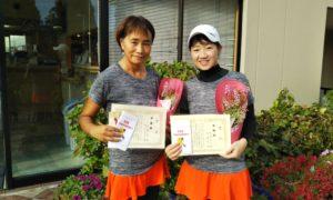 第1453回 緑ヶ丘テニスガーデン 女子ダブルス準優勝:矢ケ崎・佐伯ペア