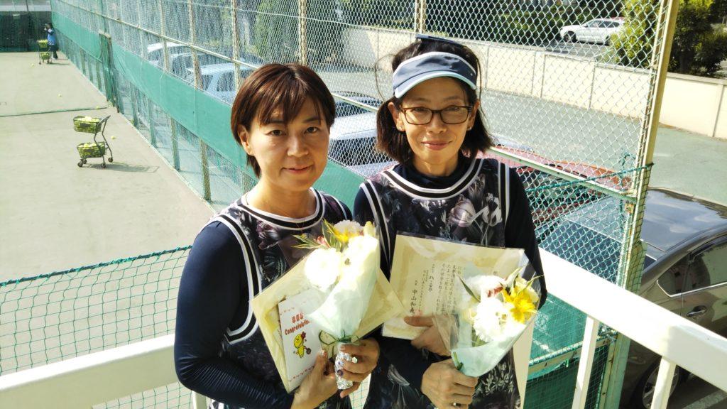 準優勝:鈴木・山口ペア