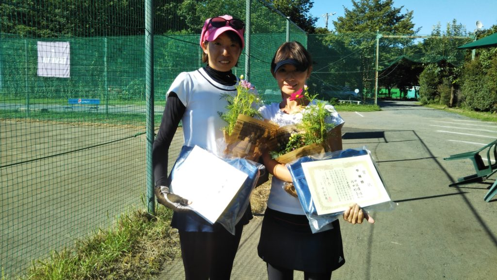 準優勝:内田・田辺ペア