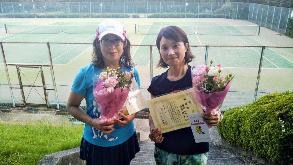 準優勝:桑野・横内ペア
