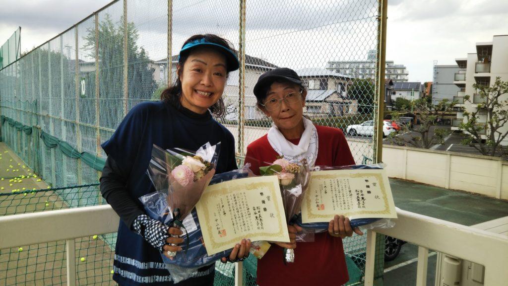 準優勝:松田・古谷ペア