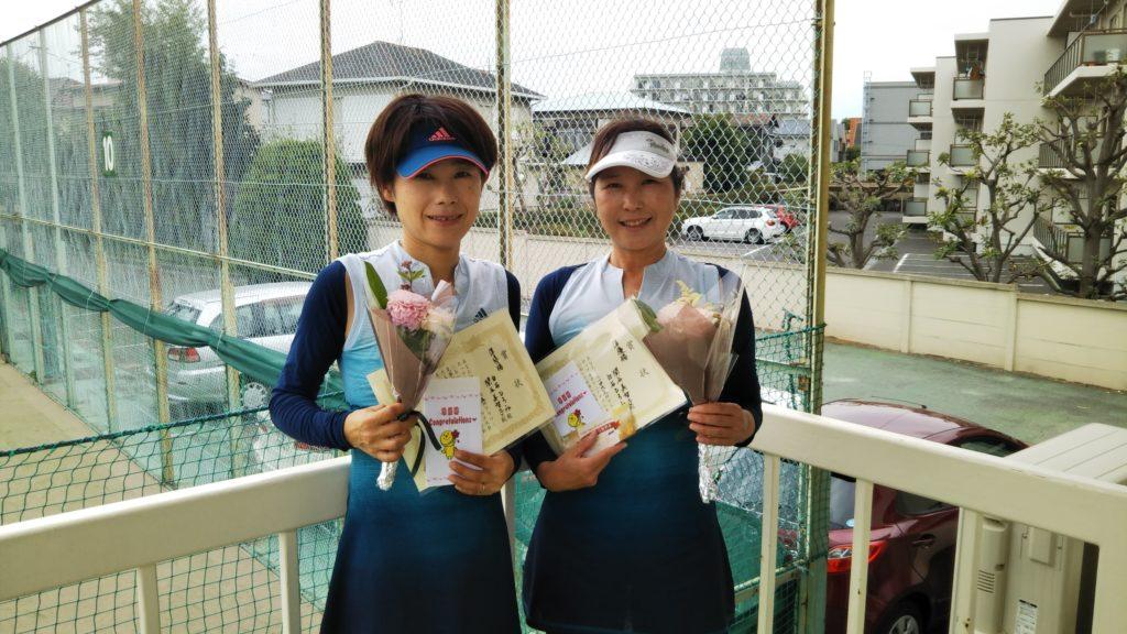 準優勝:白石・関谷ペア