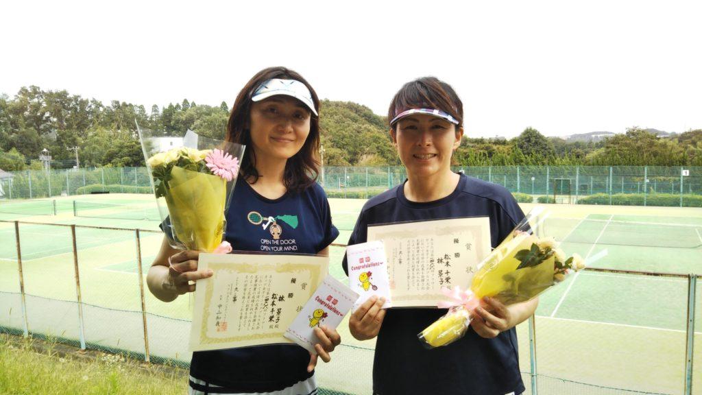 優勝:林・松本ペア
