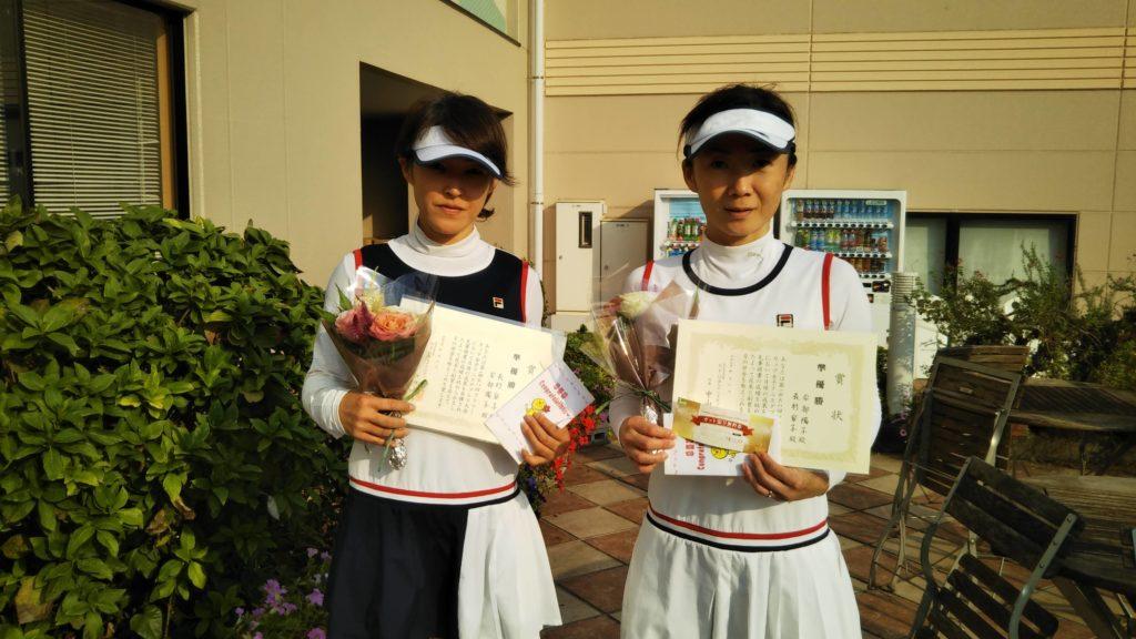 準優勝:長村・安部ペア