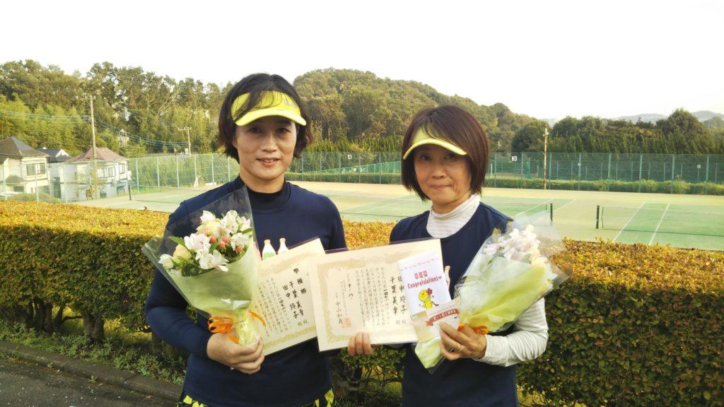準優勝:千葉・田中ペア