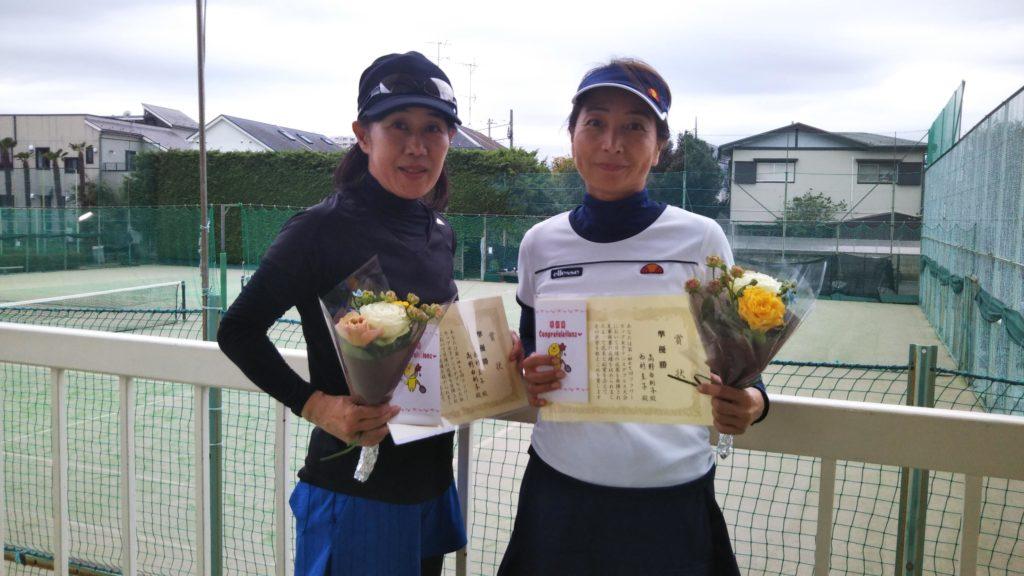 準優勝:西村・高野ペア