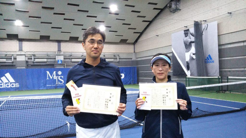 準優勝:阿部・古瀬ペア