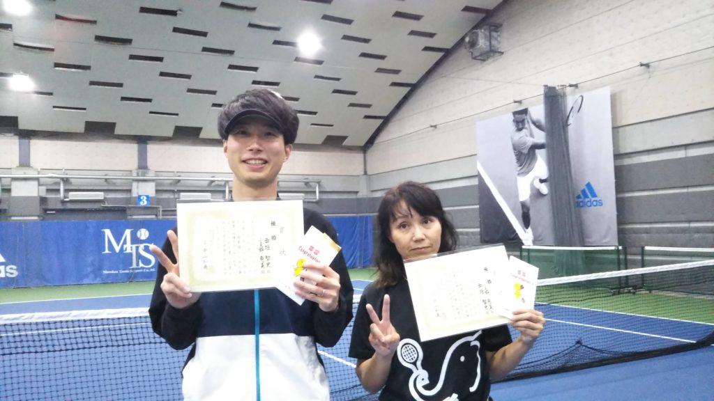 優勝:西垣・小見野ペア