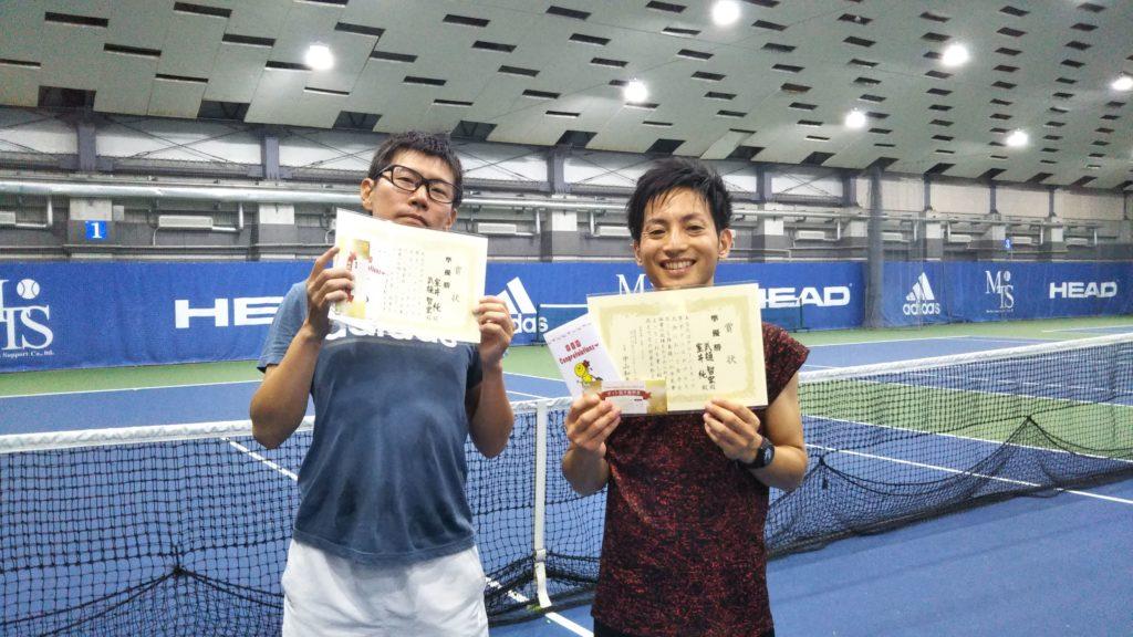 準優勝:室井・武樋ペア