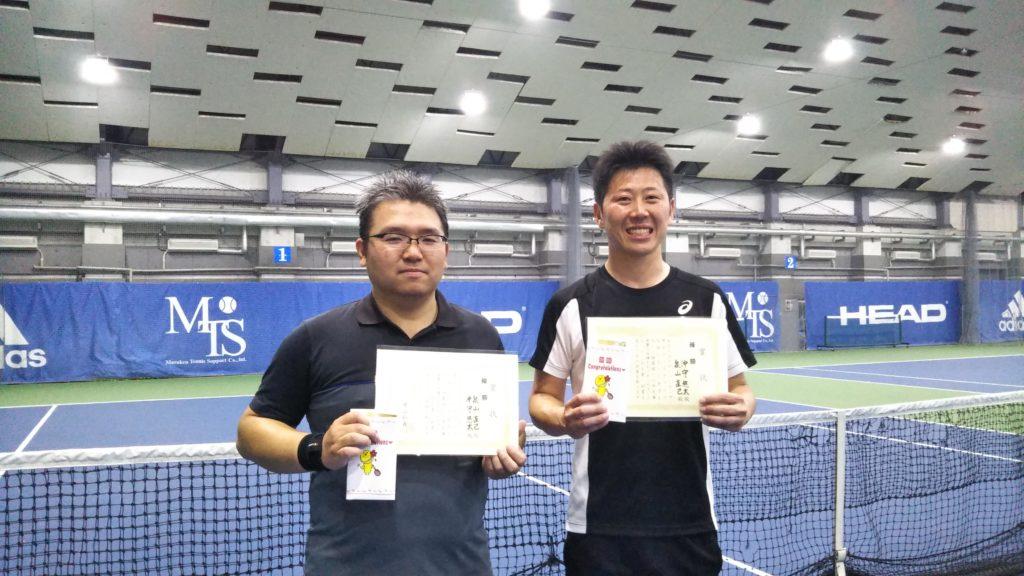 優勝:泉山・沖守ペア
