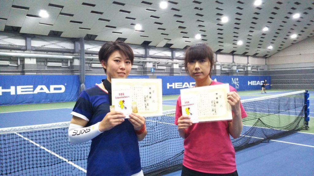 準優勝:前川・三重野ペア