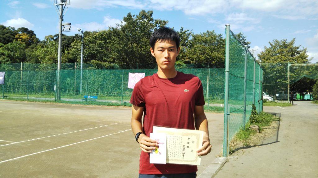 準優勝:黒澤選手