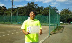 第3回 桜田倶楽部 男子シングルス優勝:大石選手