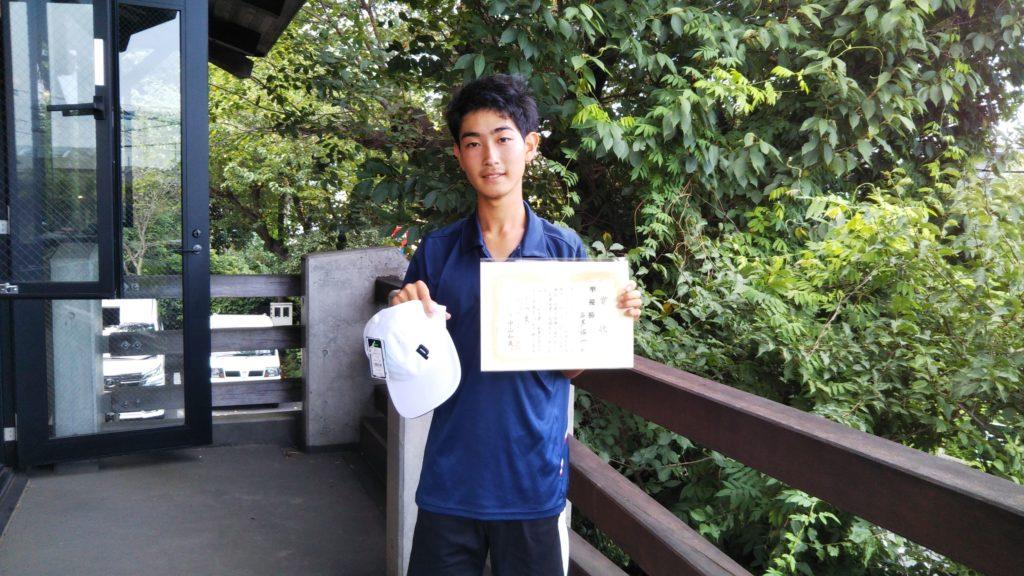 準優勝:石黒 佑一選手